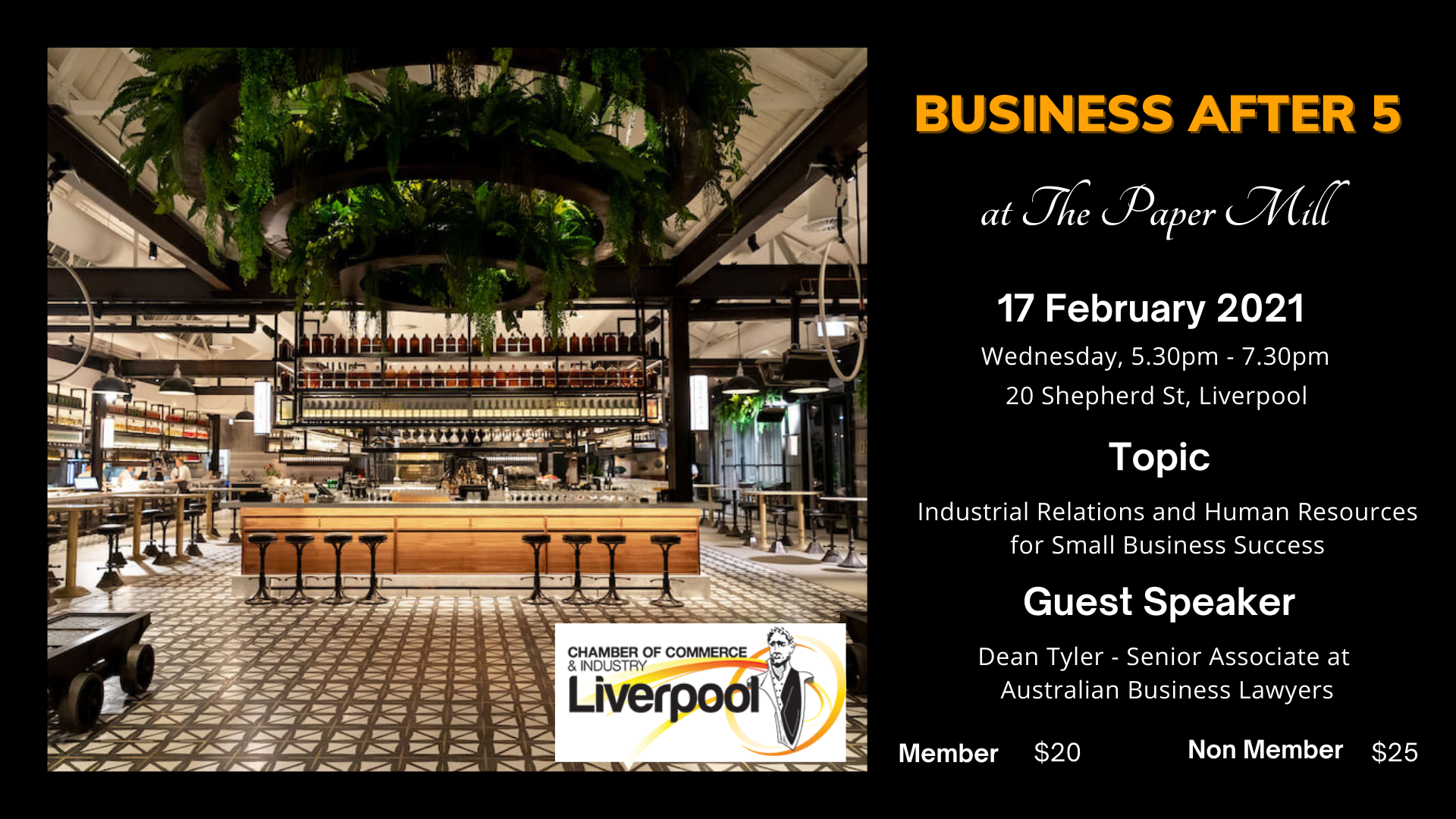Business After 5 - February